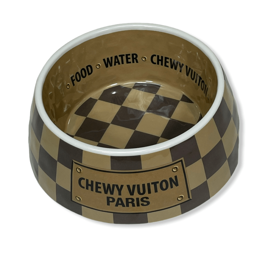 Gamelle Haute Diggity Dog Chewy Vuiton